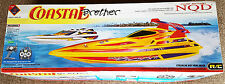 NQD R/C Coastal Brother Battery Operated RACING BOAT Radio Control Speed Boat