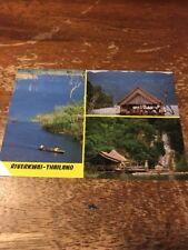 Thailand Postcard 126-D River Kwai Kao Lake Dam Sri Nakarin Dam