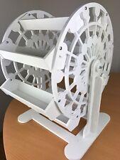Candy Cart Ferris Wheel 32cm High,New,Sweet Display,10mm White Plastic,Free Sign