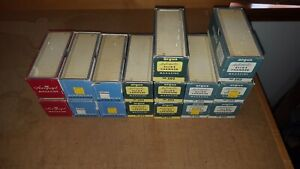 """Airequipt & Argus 35mm Slide Changer 2""""x2"""" Projector Magazine Trays Lot of 16"""