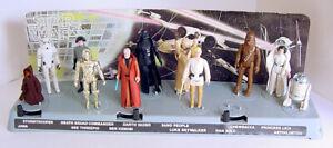 1979 KENNER STAR WARS 12 BACK MAIL AWAY PROMO DISPLAY STAND w LUKE R2D2 VADER