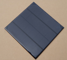 6V 4.5W  Monocrystalline Mini Epoxy Solar Panel Photovoltaic Panel