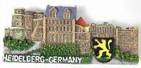 Heidelberg Germany Poly Magnet Relief Souvenir Deutschland,8 cm,NEU