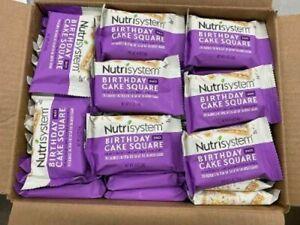 99 NUTRISYSTEM BODY SELECT NIGHTCAP SQUARES LQQK