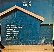 ECHOES OF ENJA-M1982LP GER IMP Sampler Previously Unreleased Tracks CHET BAKER