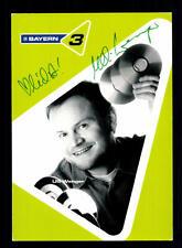 Illi Wenger Bayern 3 Autogrammkarte Original Signiert # BC 59090