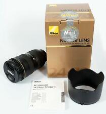 Nikon AF-S Nikkor 24-70mm F/2.8 G ED usato in ottime condizioni.