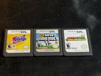 Kirby Squeak Squad, Super Mario Bros, Bowsers Inside Story Nintendo DS Game Lot