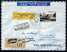 1950 - AIR FRANCE - Inaugurazione linea aerea  Parigi- Lomè