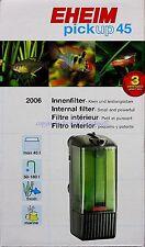 EHEIM PICKUP 45 filtro interno 2006 acqua dolce e acqua di mare nano acquari PICK UP