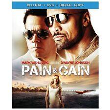 "Pain  & Gain (Blu-ray+ DVD, 2013) Dwayne ""The Rock"" Johnson FREE SHIPPING!"