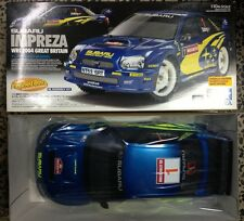 TAMIYA 1/10 #49352 SUBARU IMPREZA WRC 2004 GREAT BRITAIN TL-01RA CHASSIS