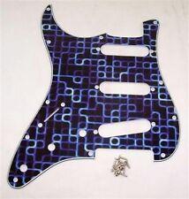 Mano SINISTRA d'arte Scratchplate per Fender Strat / pg71