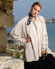 Renaissance Gothic Pirate Medieval Costume Shirt