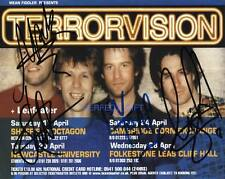 TERRORVISION CAST SIGNED PP PHOTO TEQUILLA SHUTTY A