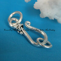 Antique Silver Clasp Clasp Part Finding Jewelry Making Design Findings SI0020