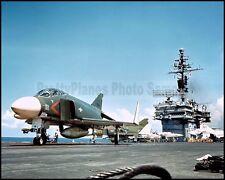 USN F-4 Phantom VF-213 Black Lions Kitty Hawk CVA-63 1966 8x10 Aircraft Photos