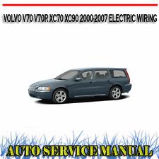 VOLVO V70 V70R XC70 XC90 2000-2007 ELECTRIC WIRING DIAGRAMS MANUAL ~ DVD