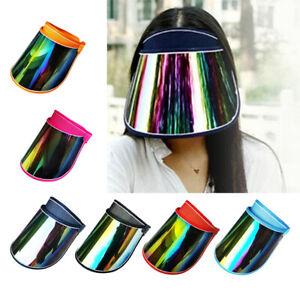 Women Summer Solar Protection Cap Visor Sun Hat Anti-UV Full Face Shield Cap