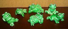 Ü-Uovo Ferrero Happy Frogs 1985 Germania 6 diversi con Big Boss