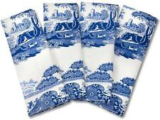 Pimpernel Spode Blue Italian napkin cotton serviette set of 4