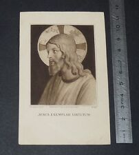 CHROMO 1922 IMAGE PIEUSE CATHOLICISME HOLY CARD NOCES D'ARGENT SACERDOTALES