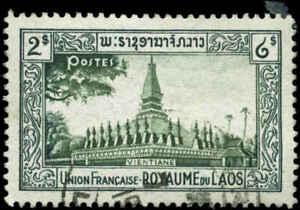 Laos Scott #13 Used