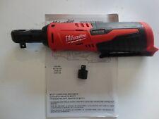 "MILWAUKEE 2457-20 12V M12 12 Volt 3/8"" Li-Ion Cordless Ratchet Tool Only"