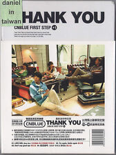 CNBLUE: Thank you - First Step +1 (2011) Korea / CD & 40p Booklet TAIWAN