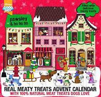 Christmas Advent Calendar For Dogs Good Boy 100% Natural Meaty Treats Festive