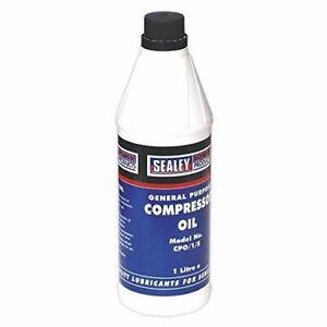 Sealey CPO1S Compressor Oil 1L