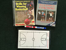 Basketball Successful Coaching Tools - Lot of 3 Items - 2 Guide Books/Dry Erase