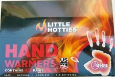 LITTLE HOTTIES Hand Warmers 8 Hrs Safe Natural Odorless Warmer,40 Pairs 80 Pack