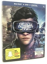 READY PLAYER ONE  (Blu-ray+DVD+Digital, 2018) NEW w/ Slipcover