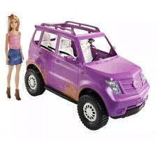 Barbie Doll and Vehicle SUV  Sweet Orchard Farm car  playset NEW 2020