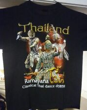 Thailand Ramayana Classical Thai Dance Drama (L) Cotton T-Shirt Theatre Novelty