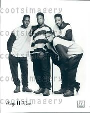 1993 Wire Photo 1990s R&B Hip Hop Pop Singing Group Boyz II Men