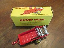 Vintage Dinky Toys Monure Spreader 321