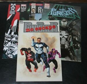 Punisher Comic Lot- 218/220 First Punisher as War Machine Max #67 No Escape TPB