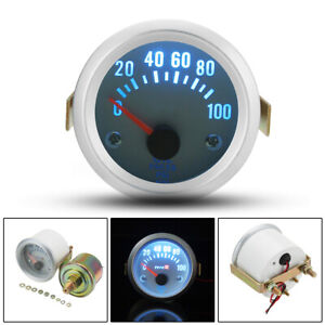 2'' 52mm Auto Electrical Digital Pointer Oil Pressure Press Meter Gauge  #