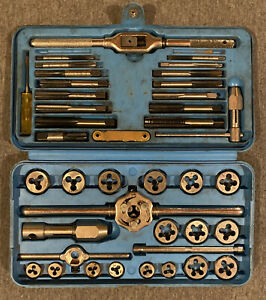 Matco Tools Metric 42 Pieces + Case Tap & Die Super Set No.6312