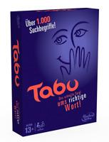 Hasbro A4626100 Tabu Partyspiel Teamspiel Familienspiel Gesellschaftsspiel