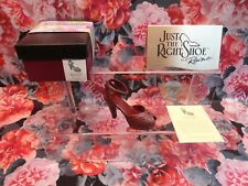 """Just The Right Shoe Raine Originals - """"Late For A Date"""" 2000 New"""