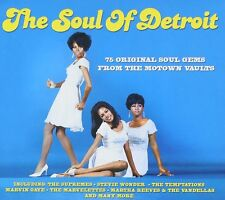 The Soul Of Detroit 3-CD NEW SEALED Motown Supremes/Mary Wells/Eddie Holland+