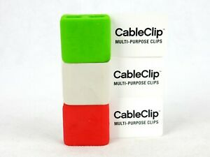 Blue Lounge Cable Clip, Lot of 3, Declutter Wires, Choice of Color, Sweda BL0705