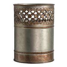 REDUCED   Morrocan Style  Rustic  Metal Candle Holder   BRAND NEW