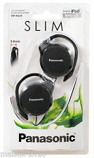 Panasonic RP-HS46K Oreille-Crochet Ultra Slim Casque-Noir