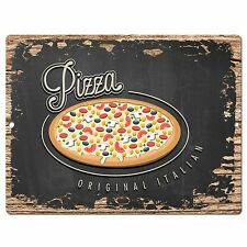 PP0507 Pizza Plate Chic Sign Bar Store Shop Cafe Restaurant Kitchen Decor
