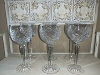 Waterford Crystal Clare Pattern Wine Hocks (6)