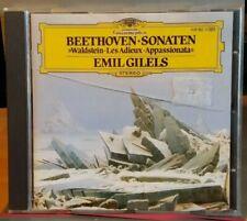 DG CD Emil Gilels Beethoven Piano Sonatas 8 Pathetique 21 Adieux 23 Waldstein